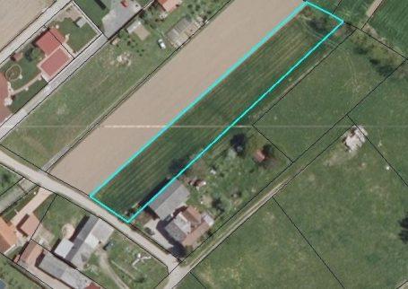 Stavbno zemljišče v Murskih Črncih pri M.Soboti