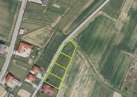 Stavbno zemljišče v Moravskih Toplicah